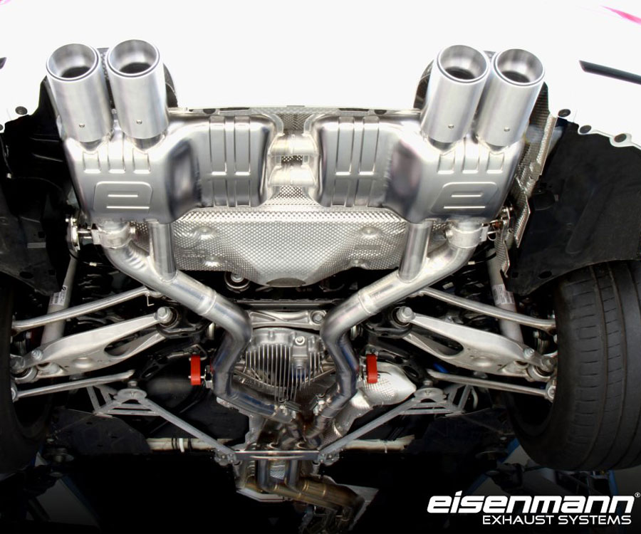 Eisenmann's New Exhaust For The BMW F82, F83, M4 & F80 M3
