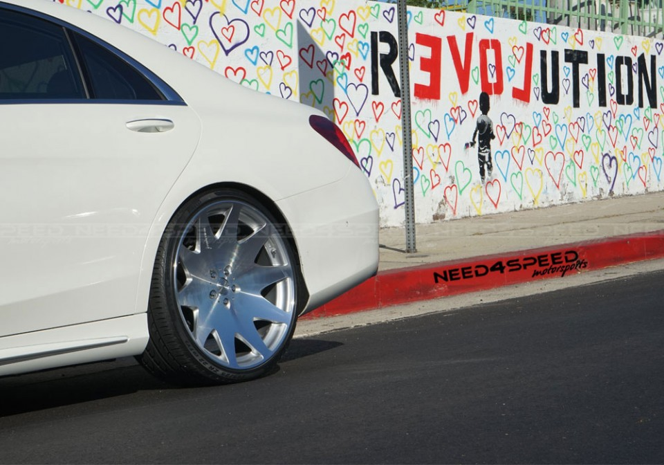 Mrr Hr3 Wheels Slammed On The Mercedes Benz S550 Need 4