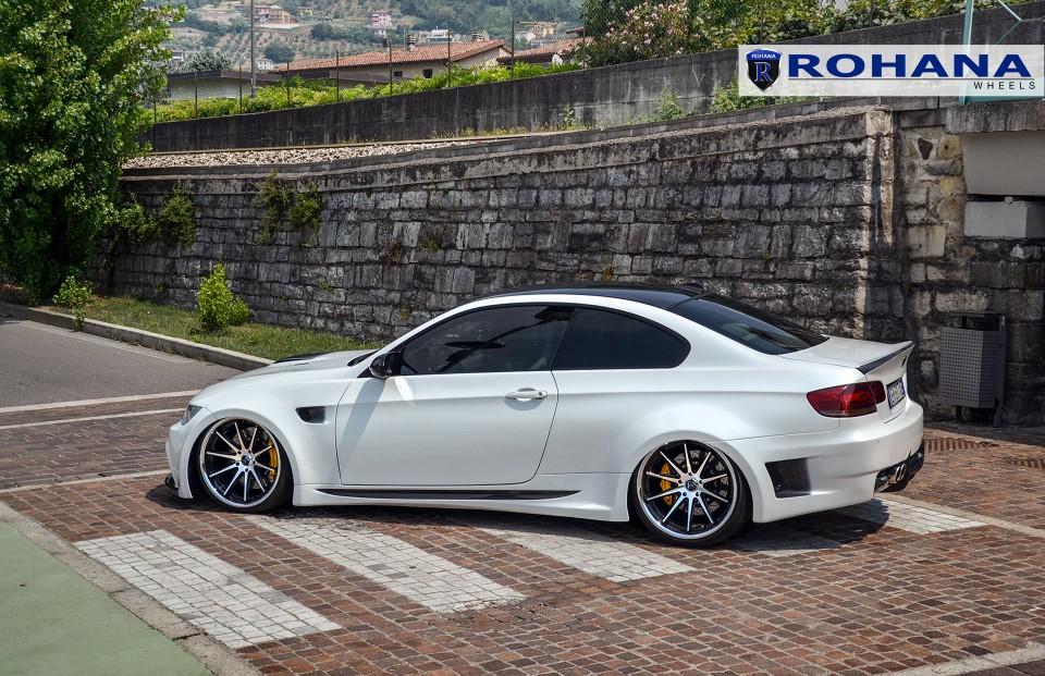 Rohana RC10 Wheels lowered on the BMW M3 E92 - Need 4 ...