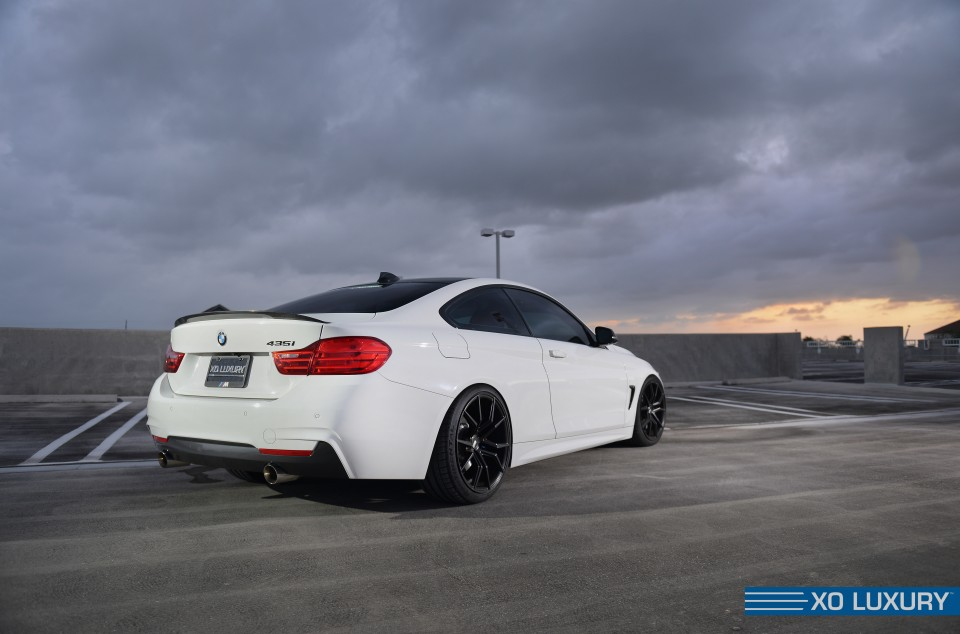 Matte Black Mustang >> BMW 435i F32 gets a fresh set of XO Verona wheels – Need 4 ...