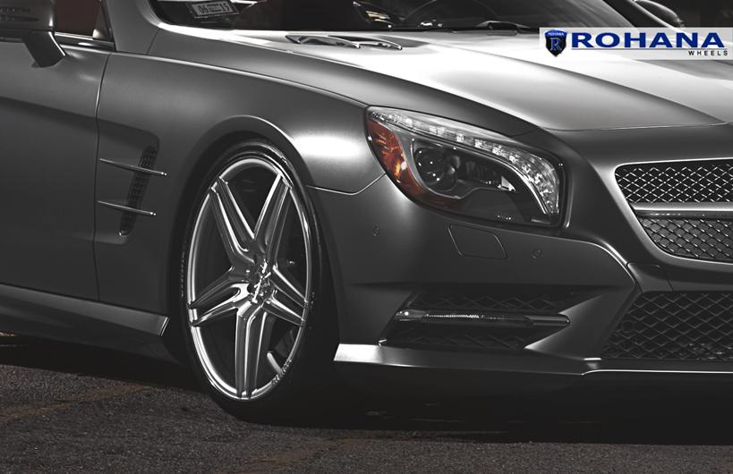 Niche Wheels Mustang >> Mercedes Benz SL550 R231 gets the Rohana RC8 wheels – Need 4 Speed Motorsports