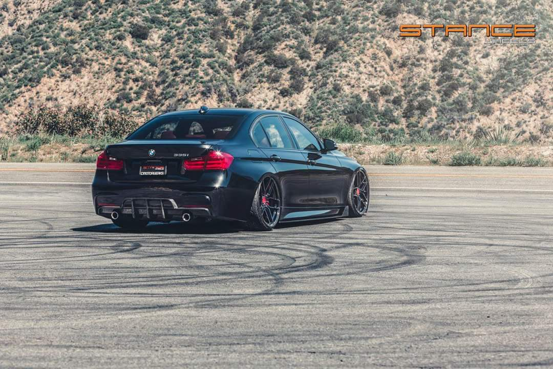 Bmw 335i F30 Gets A New Look With The Rotary Flow Forged Stance Sf03