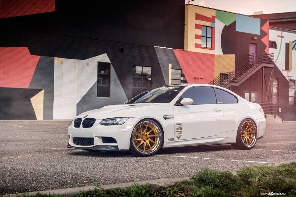 Bmw M3 E92 Hits The Streets With The Gold Bullion Avant