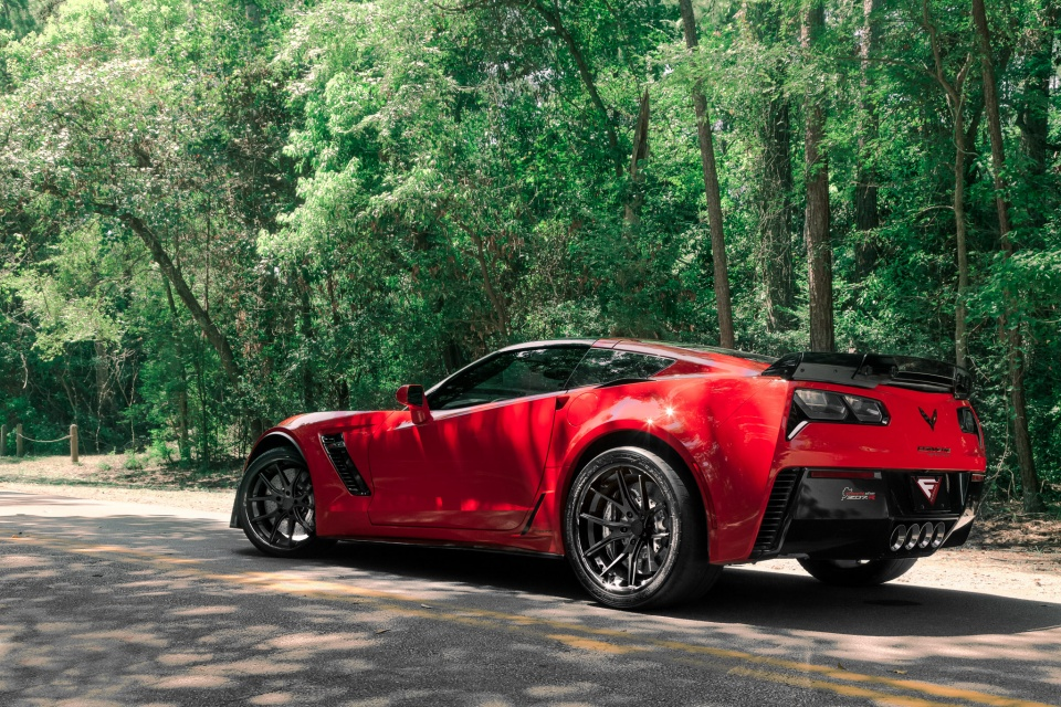 Chevrolet Corvette C7 Z06 Gets Connected With The Matte