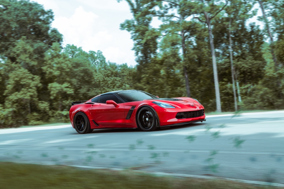 2016 Corvette Z07 >> Chevrolet Corvette C7 Z06 gets connected with the matte black Ferrada FR2 wheels – Need 4 Speed ...