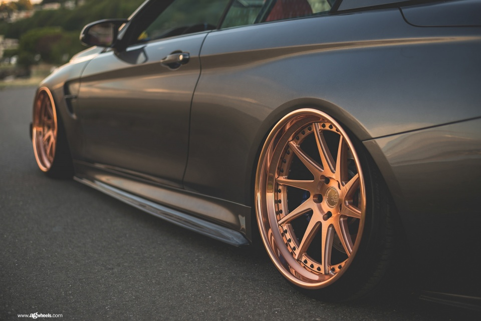 Ford Or Chevy >> BMW M4 F83 gets the brushed copper Avant Garde F521 wheels – Need 4 Speed Motorsports