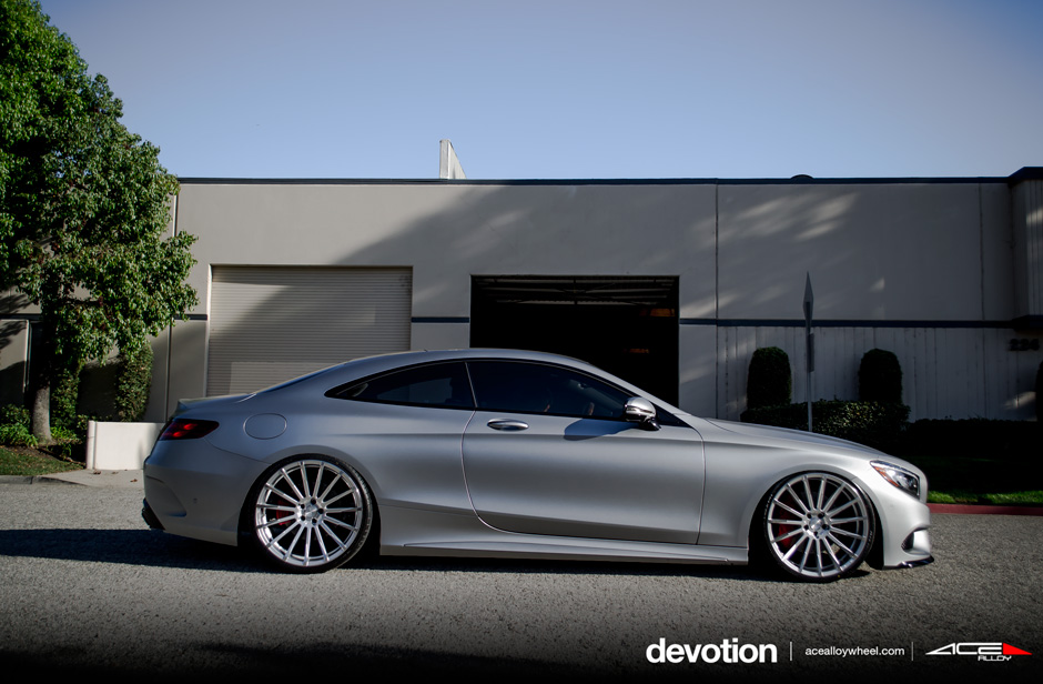 Mercedes Benz S63 Coupe W222 Gets The Concave Multi Spoke