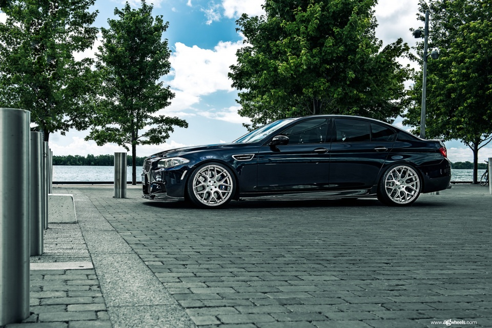 Niche Wheels Mustang >> BMW M5 F10 gets a fully brushed polished Avant Garde M590 ...