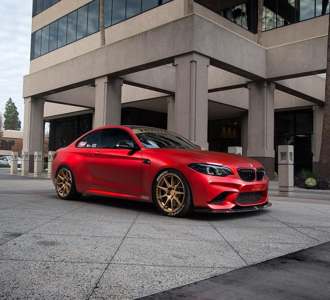 Bmw M2: Eye Catching BMW M2 Gets Wicked With Some ZITO Wheels ZF02