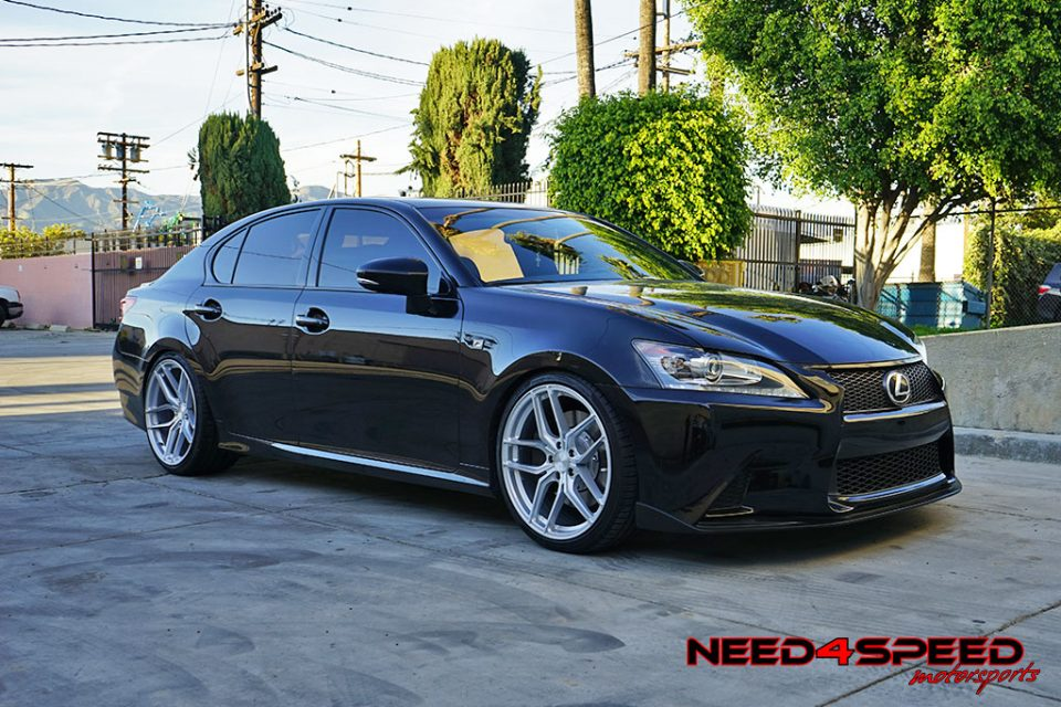 Lexus Gs350 F Sports Gets Wild On Stance Sf03 Wheels