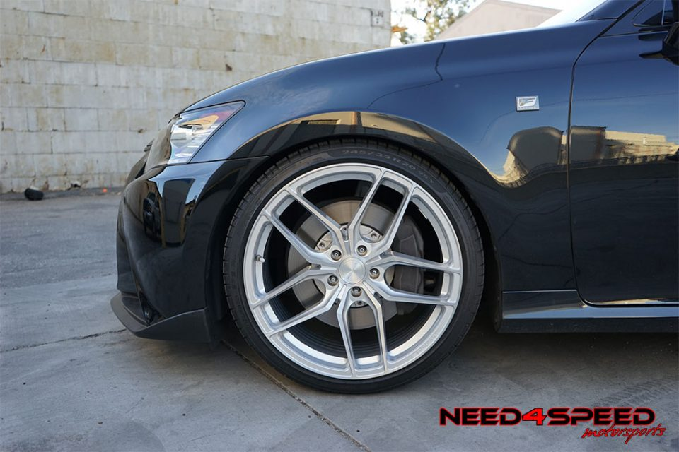 Lexus Gs350 F Sports Gets Wild On Stance Sf03 Wheels