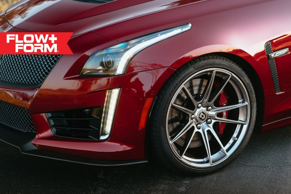2017 Red Obsession Tintcoat Cadillac CTS-V gets custom ...
