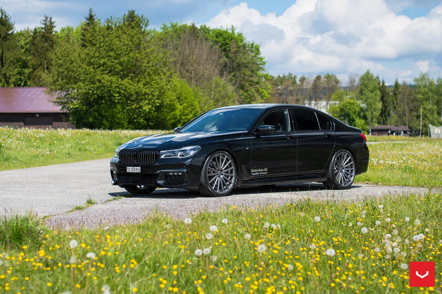new 2017 bmw 7 series get a whole new look with some vossen wheels vfs 2 need 4 speed motorsports. Black Bedroom Furniture Sets. Home Design Ideas