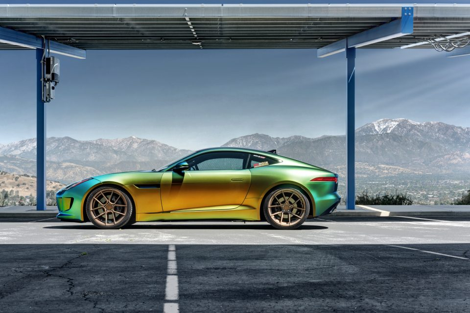 The Jaguar F Type Lightweight Aluminum Body Gets Completed