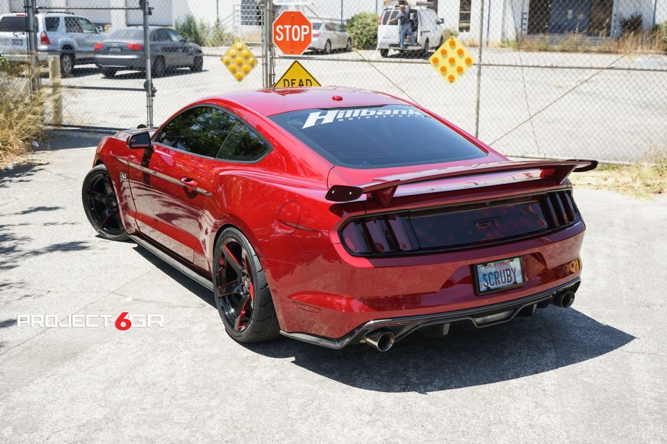 This Ruby Red Ford Mustang Gt Gets New Custom Project 6gr