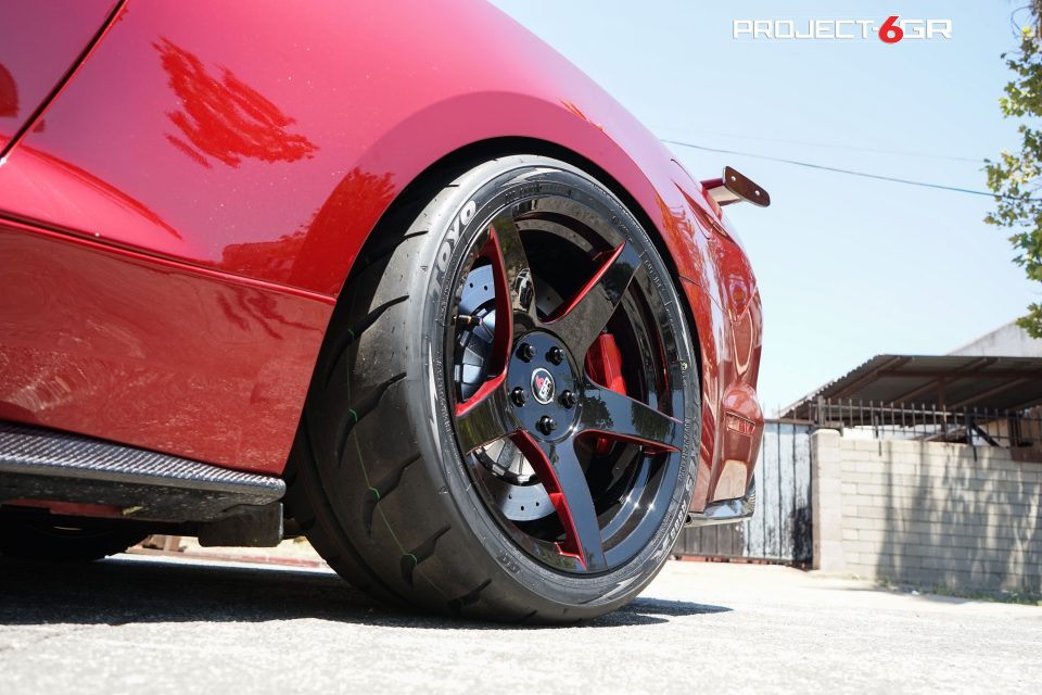 2015 Mustang Wheels >> This Ruby Red Ford Mustang GT gets new custom Project 6GR ...