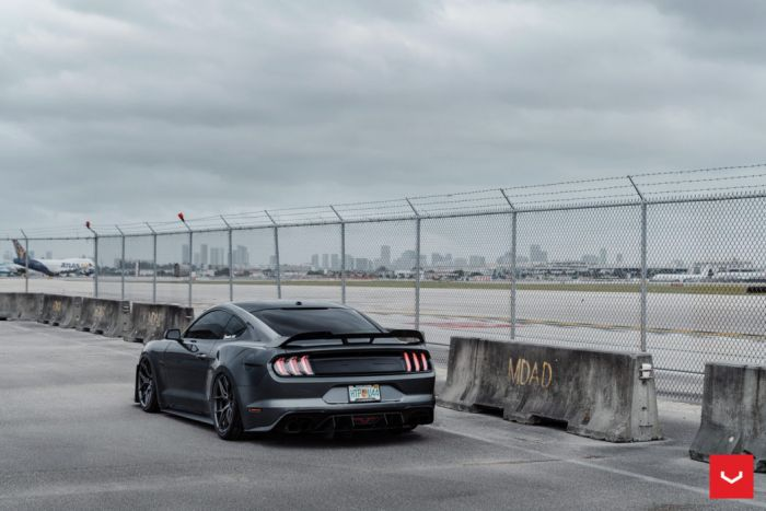 ford mustang hybrid forged series hf vossen wheels