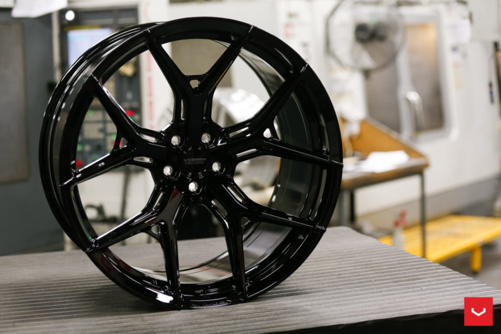 vossen hf gloss black hybrid forged series vossen wheels