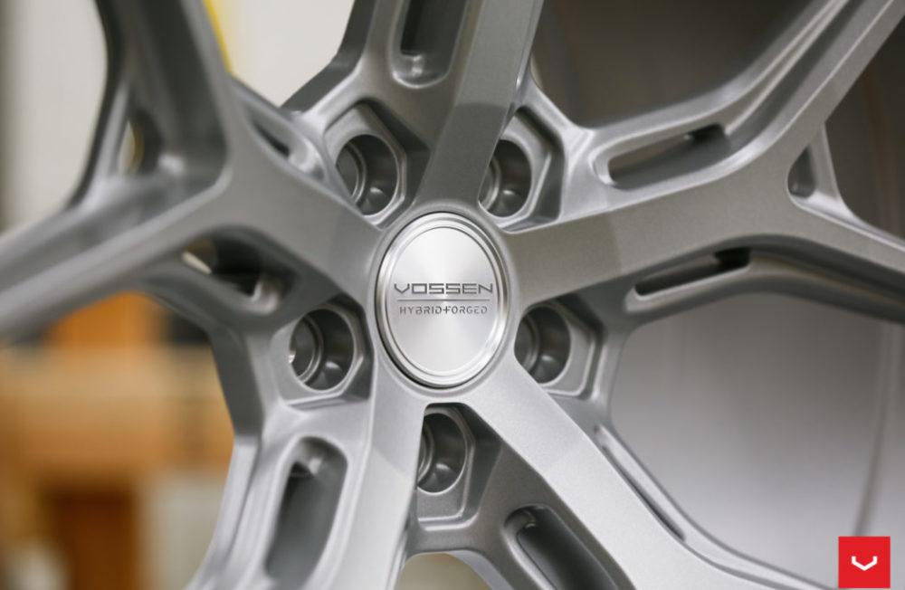 vossen hf satin silver hybrid forged series vossen wheels