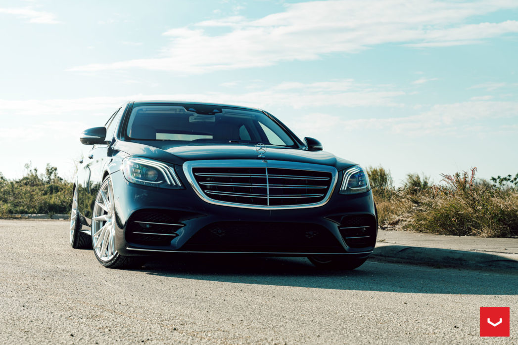 mercedes s hybrid forged series hf t vossen wheels   x