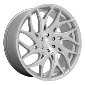 DUB Wheels S261 G.O.A.T Silver Brushed Face