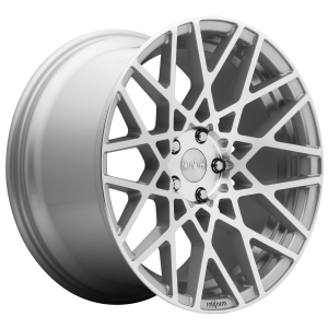 Rotiform Wheels R110 BLQ Gloss Silver Machined