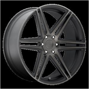 DUB Wheels S123 Skills Matte Black DDT