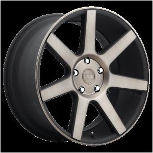DUB Wheels S127 Future Matte Black DDT