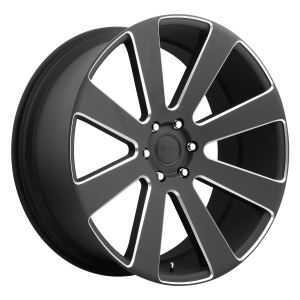 DUB Wheels S187 8-Ball Matte Black Milled