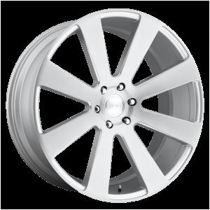 DUB Wheels S213 8-Ball Gloss Silver Brushed