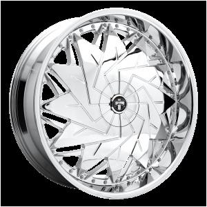 DUB Wheels S235 Dazr Chrome