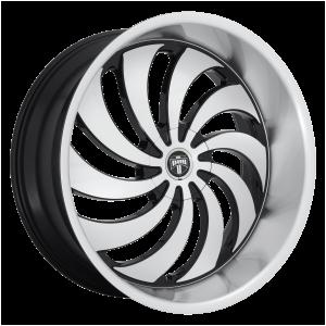 DUB Wheels S243 Cojones Gloss Black Machined
