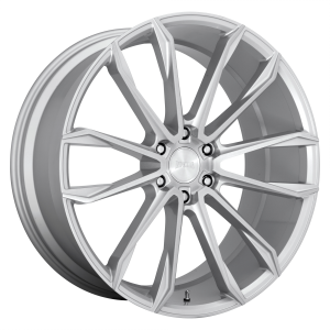 DUB Wheels S248 Clout Gloss Silver Brushed