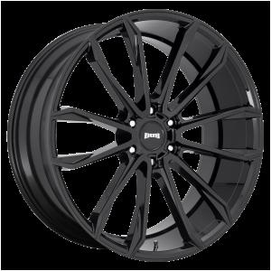DUB Wheels S253 Clout Gloss Black