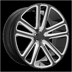 DUB Wheels S255 Flex Gloss Black Milled