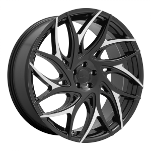 DUB Wheels S259 G.O.A.T Gloss Black Machined