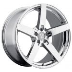 - Staggered Full Set - (2) 17x8 Mandrus Arrow Chrome (Rotary Forged)(2) 17x9 Mandrus Arrow Chrome (Rotary Forged)