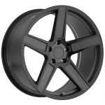17x8 TSW Ascent Matte Gunmetal w/ Gloss Black Face