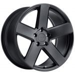 - Staggered Full Set - (2) 18x8.5 TSW Bristol All Matte Black(2) 18x9.5 TSW Bristol All Matte Black