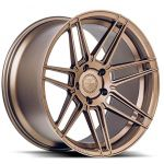 Staggered full Set - 20x9 Ferrada Forge-8 FR6 Matte Bronze (Rotary Forged) 20x10 Ferrada Forge-8 FR6 Matte Bronze (Rotary Forged)