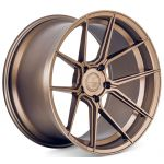20x9 Ferrada Forge-8 FR8 Matte Bronze (Rotary Forged)