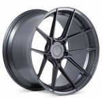 Staggered full Set - 20x9 Ferrada Forge-8 FR8 Matte Graphite (Rotary Forged) 20x10 Ferrada Forge-8 FR8 Matte Graphite (Rotary Forged)