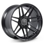 Staggered full Set - 20x9 Ferrada Forge-8 FR6 Matte Black (Rotary Forged) 20x10 Ferrada Forge-8 FR6 Matte Black (Rotary Forged)