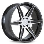 24x10 Ferrada FT2 Machine Black