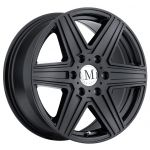 17x7.5 Mandrus Atlas 6 All Matte Black