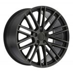 - Staggered full Set -(2) 19x8.5 Mandrus Masche Gloss Black w/ Matte Black Face(2) 19x9.5 Mandrus Masche Gloss Black w/ Matte Black Face