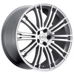 20x9.5 Redbourne Manor Gloss Silver w/ Machined Face