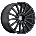 - Staggered Full Set - (2) 20x8.5 Mandrus Rotec All Matte Black (Rotary Forged)(2) 20x10 Mandrus Rotec All Matte Black (Rotary Forged)