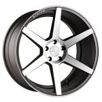 20x10 Stance SC-6 Slate Grey/ Machined Face