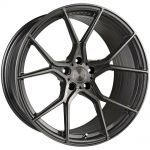 19x9.5 Stance SF07 Gunmetal w/ Brushed Tinted Face (Rotary Forged)